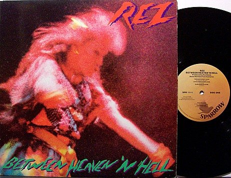 Rez - Between Heaven 'N Hell - Vinyl LP Record - Christian Rock
