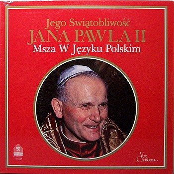 Pope Jana Pawla II - Msza W Jezyku Polskim - Sealed Vinyl LP Record - Catholic Christian