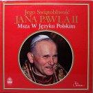 Pope Jana Pawla II - Msza W Jezyku Polskim - Sealed Vinyl LP Record - Catholic Christian