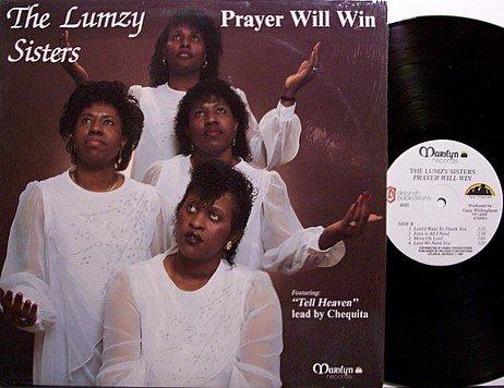 Lumzy Sisters, The - Prayer Will Win - Vinyl LP Record - Private Gospel