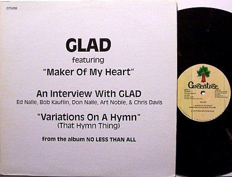 Glad - Interview - Promo Only - Radio Vinyl LP Record - 1983 - Christian