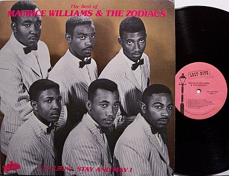 Williams, Maurice & The Zodiacs - The Best Of - Vinyl LP Record - R&B Soul