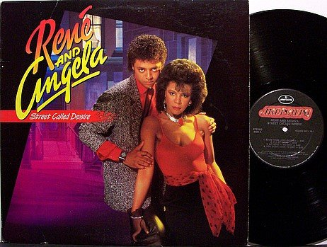 Rene And Angela - Street Called Desire - Vinyl LP Record - R&B