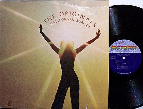 Originals, The - California Sunset - Vinyl LP Record - Motown R&B Soul