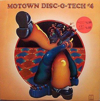 Motown Disc-O-Tech #4 - Sealed Vinyl LP Record - Disco Teck - R&B Soul