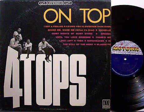 Four Tops - On Top - 4 - Vinyl LP Record - Motown R&B Soul