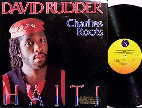 Rudder, David - Haiti - Vinyl LP Record - Promo - Charlies Roots - Reggae