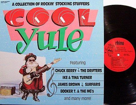 Cool Yule - Vinyl LP Record - Chuck Berry / Ike & Tina Turner etc - Rhino Label - Christmas Rock