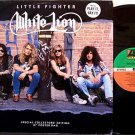 "White Lion - Little Fighter - Promo with Folder Poster Sleeve - Vinyl 12"" Record - Glam Rock"