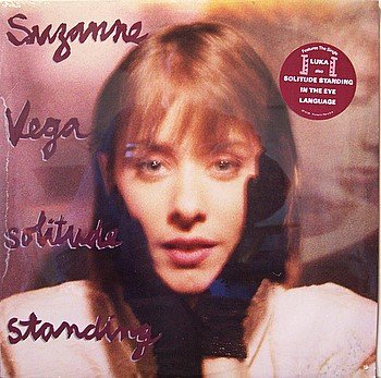 Vega, Suzanne - Solitude Standing - Sealed Vinyl LP Record - Luka - Female Rock
