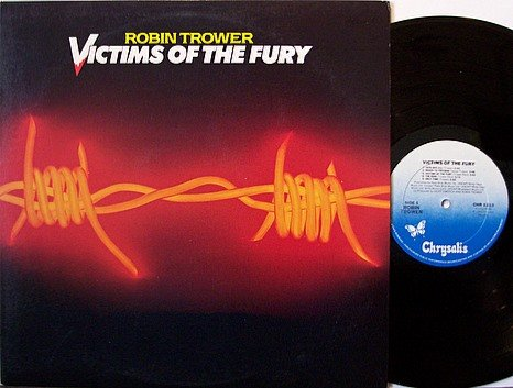 Trower, Robin - Victims Of The Fury - Vinyl LP Record - Rock