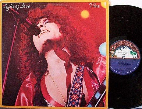 T. Rex - Light Of Love - Vinyl LP Record - Marc Bolan T - Glam Rock