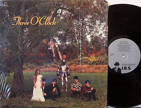 Three O'Clock, The - Ever After - Vinyl LP Record + Insert - IRS Label - Alternative Rock