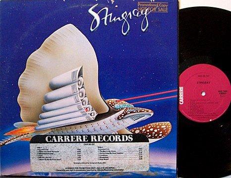 Stingray - Self Titled - Vinyl LP Record - Promo with DJTS - Rock