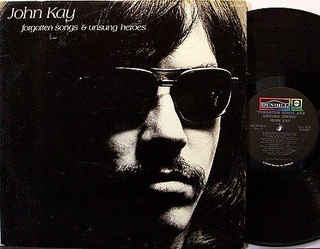 Steppenwolf / John Kay - Forgotten Songs & Unsung Heroes - Vinyl LP Record + Insert - Rock