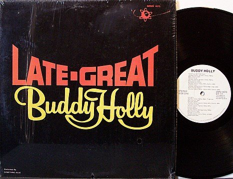 Something New - Late Great Buddy Holly - Vinyl LP Record - Rock
