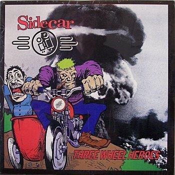 Sidecar - Three Wheel Heroes - Sealed Vinyl LP Record - Side Car 3 - Indie Punk Rock