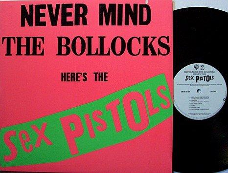 Sex Pistols - Never Mind The Bollocks Here's The Sex Pistols - Vinyl LP Record - Punk Rock