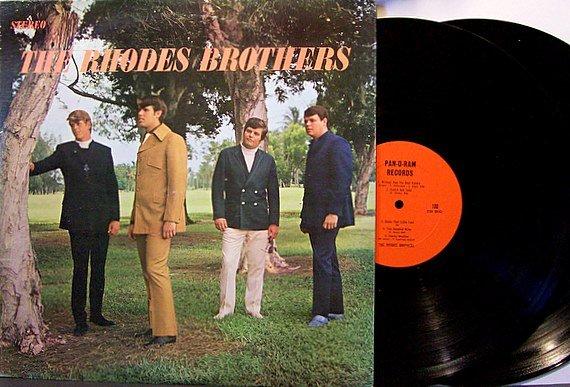Rhodes Brothers, The - Self Titled - Vinyl 2 LP Set - Tarzan and Monkeys - Rock