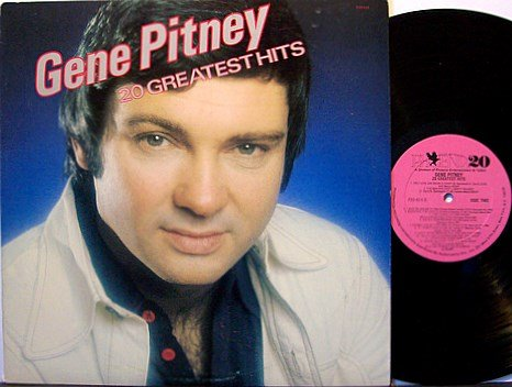 Pitney, Gene - 20 Greatest Hits - Vinyl LP Record - Rock