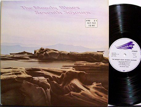 Moody Blues, The - Seventh Sojourn - German Pressing - Vinyl LP Record - 7th - Rock