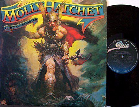 Molly Hatchet - Flirtin' With Disaster - Vinyl LP Record - Southern Rock