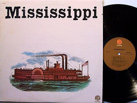 Mississippi - Self Titled - Vinyl LP Record - Promo - Fantasy Label - Rock