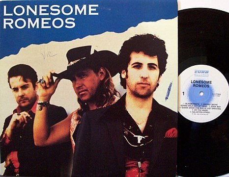 Lonesome Romeos - Self Titled - Vinyl LP Record - Rock