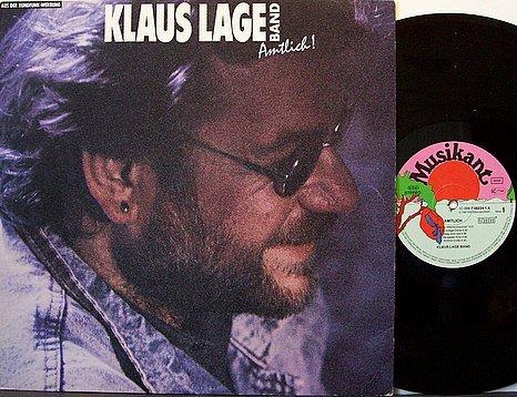 Lage, Klaus Band - Amtlich - Germany Pressing - Vinyl LP Record - German Rock