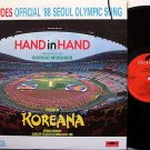 Koreana - Hand In Hand - Vinyl LP Record - Seoul Olympics - George Moroder - Pop Rock