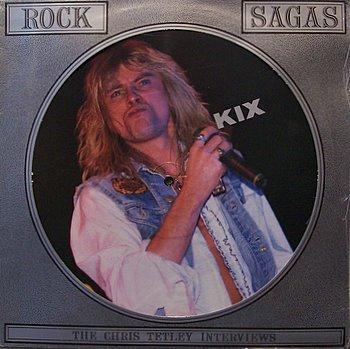 Kix - Rock Sagas - Picture Disc - Sealed Vinyl LP Record - Rock