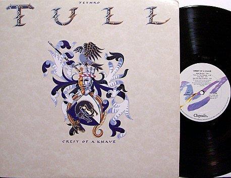 Jethro Tull - Crest Of A Knave - Vinyl LP Record - Rock