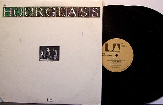 Hourglass - Self Titled - Vinyl 2 LP Record Set - Duane & Gregg Allman Brothers Hour Glass - Rock