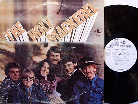 Holy Mackerel, The - Self Titled - White Label Promo - Vinyl LP Record - Paul Williams - Rock