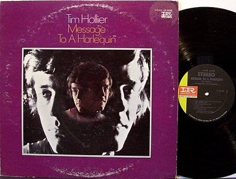 Hollier, Tim - Message To A Harlequin - Vinyl LP Record - Folk Rock