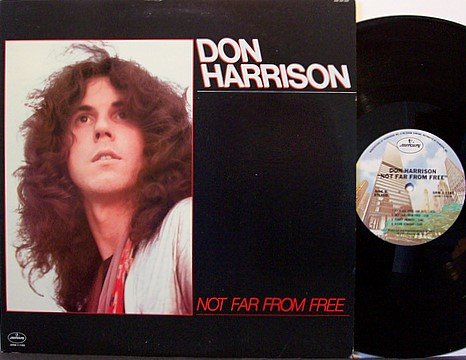 Harrison, Don - Not Far From Here - Vinyl LP Record + Insert - Rock