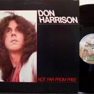 Harrison, Don - Not Far From Here - Vinyl LP Record + Insert - Rock