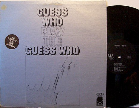 Guess Who - Play The Guess Who - Vinyl LP Record - Rock