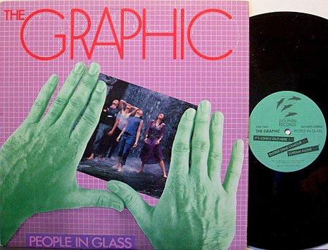 Graphic, The - People In Glass - Vinyl LP Record - Promo - Alternative Indie Rock