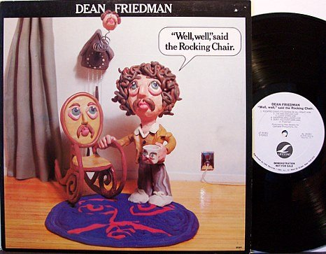 Friedman, Dean - Well Well Said The Rocking Chair - Promo - Vinyl LP Record + Insert - Rock