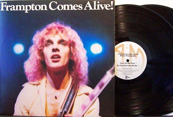 Frampton, Peter - Frampton Comes Alive - Vinyl 2 LP Record Set - Rock