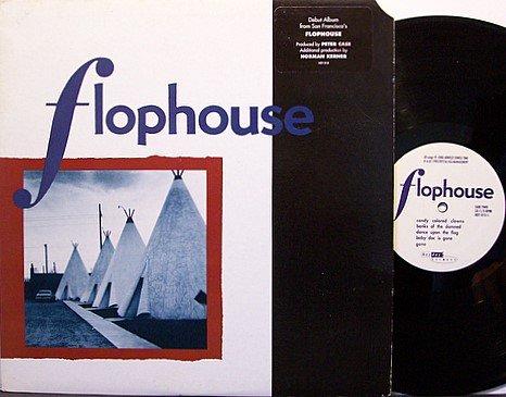 Flophouse - Self Titled - Vinyl LP Record + Inserts - Rock