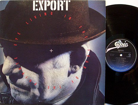 Export - Living In The Fear Of The Private Eye - Vinyl LP Record - Rock