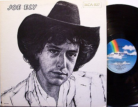 Ely, Joe - Self Titled - Vinyl LP Record - Rock