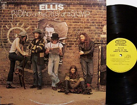 Ellis - Riding On The Crest Of A Slump - Vinyl LP Record - Rock