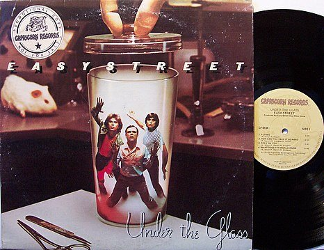 Easy Street - Under The Glass - Vinyl LP Record - Rock