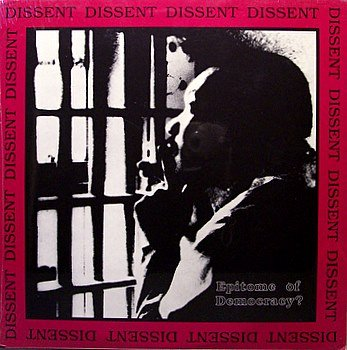 Dissent - Epitome Of Democracy - Sealed Vinyl LP Record + Inserts - Private Punk Rock