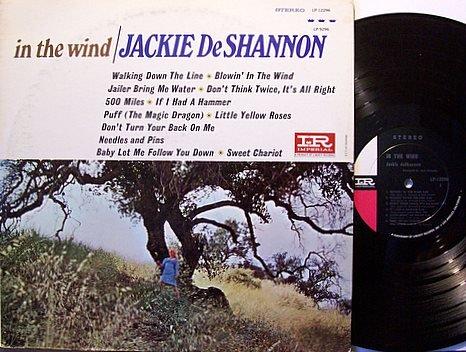 De Shannon, Jackie - In The Wind - Vinyl LP Record - Pop Rock