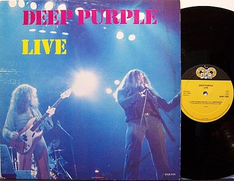 Deep Purple - Live - Holland Pressing - Vinyl LP Record - Live