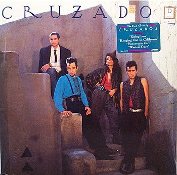 Cruzados - Self Titled - Sealed Vinyl LP Record - Rock